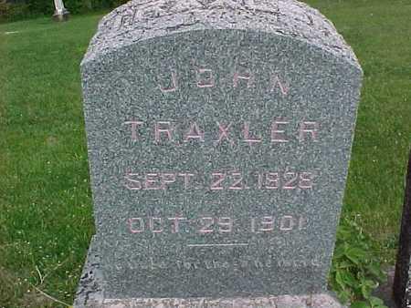TRAXLER, JOHN - Henry County, Iowa | JOHN TRAXLER