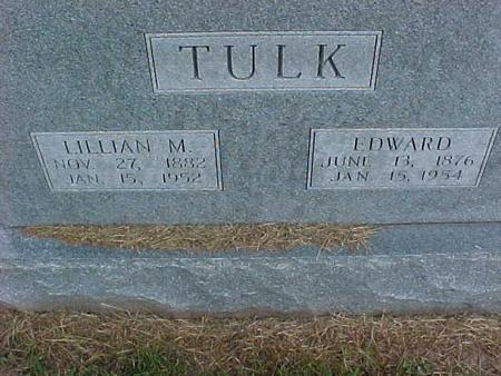 TULK, LILLIAN - Henry County, Iowa | LILLIAN TULK