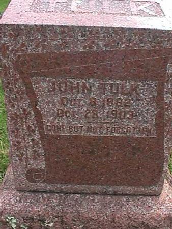 TULK, JOHN - Henry County, Iowa | JOHN TULK