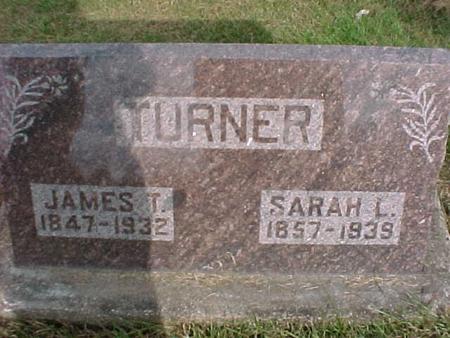 TURNER, JAMES T - Henry County, Iowa | JAMES T TURNER