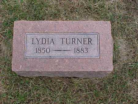 TURNER, LYDIA - Henry County, Iowa | LYDIA TURNER