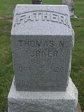 TURNER, THOMAS N - Henry County, Iowa | THOMAS N TURNER
