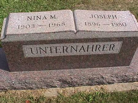 UNTERNAHRER, JOSEPH - Henry County, Iowa | JOSEPH UNTERNAHRER