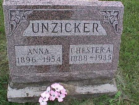 UNZICKER, CHESTER - Henry County, Iowa | CHESTER UNZICKER