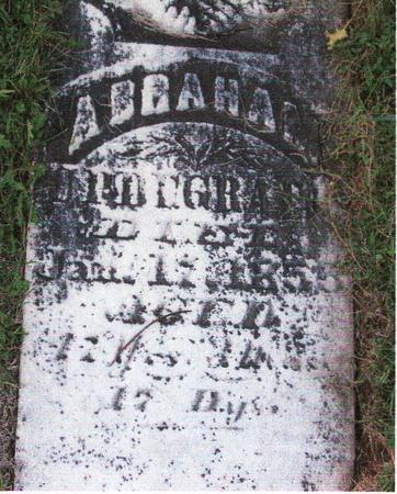 UPDEGRAFF, ABRAHAM - Henry County, Iowa | ABRAHAM UPDEGRAFF