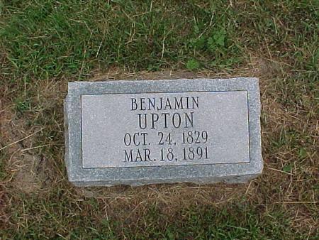 UPTON, BENJAMIN - Henry County, Iowa | BENJAMIN UPTON