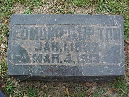 UPTON, EDMUND C - Henry County, Iowa | EDMUND C UPTON
