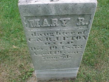 UPTON, MARY - Henry County, Iowa   MARY UPTON