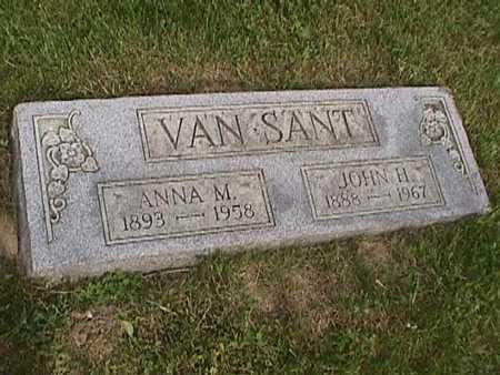 VAN SANT, ANNA M. - Henry County, Iowa | ANNA M. VAN SANT