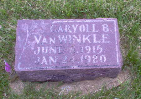 VAN WINKLE, GARY - Henry County, Iowa | GARY VAN WINKLE