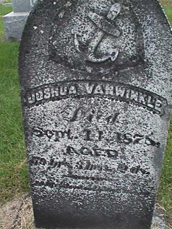 VANWINKLE, JOSHUA - Henry County, Iowa | JOSHUA VANWINKLE