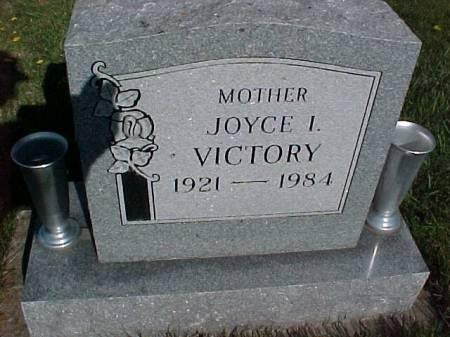 VICTORY, JOYCE I. - Henry County, Iowa   JOYCE I. VICTORY