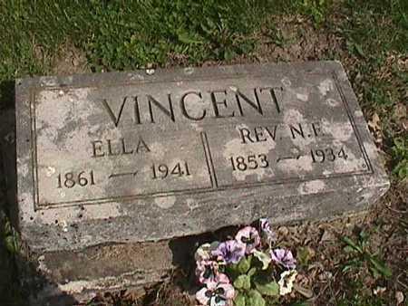 VINCENT, ELLA - Henry County, Iowa | ELLA VINCENT