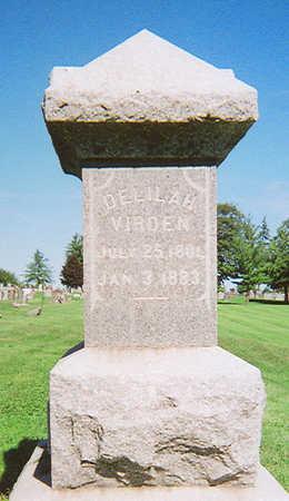 VIRDEN, DELILAH - Henry County, Iowa | DELILAH VIRDEN