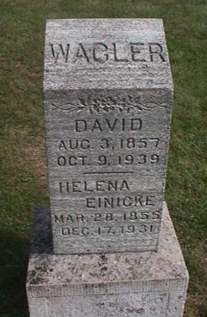 WAGLER, DAVID - Henry County, Iowa | DAVID WAGLER