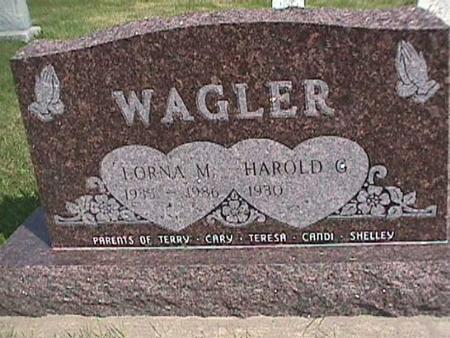 WAGLER, HAROLD - Henry County, Iowa | HAROLD WAGLER