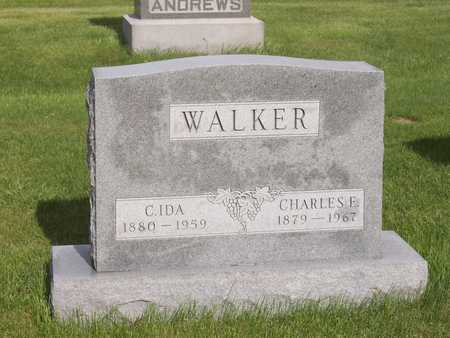 WALKER, C. IDA - Henry County, Iowa | C. IDA WALKER
