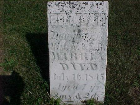 WARNER, DAUGHTER - Henry County, Iowa   DAUGHTER WARNER