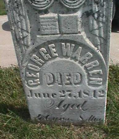 WARREN, GEORGE - Henry County, Iowa | GEORGE WARREN