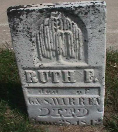WARREN, RUTH - Henry County, Iowa | RUTH WARREN