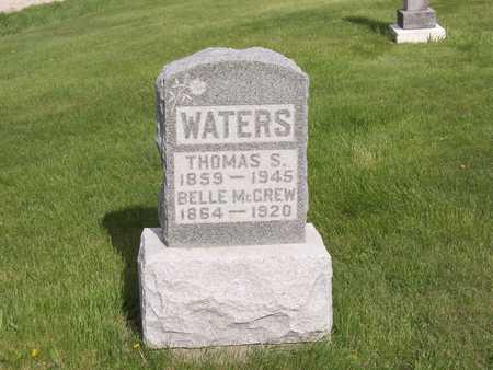 MCGREW WATERS, BELLE - Henry County, Iowa | BELLE MCGREW WATERS