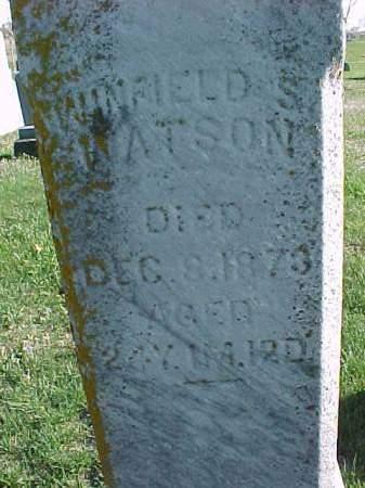 WATSON, WINFIELD S - Henry County, Iowa | WINFIELD S WATSON