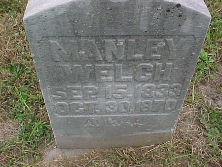 WELCH, MANLEY - Henry County, Iowa | MANLEY WELCH