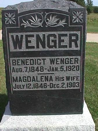 WENGER, MAGDALENA - Henry County, Iowa | MAGDALENA WENGER
