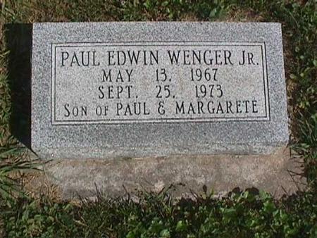 WENGER, PAUL EDWIN JR. - Henry County, Iowa | PAUL EDWIN JR. WENGER