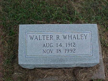 WHALEY, WALTER - Henry County, Iowa   WALTER WHALEY