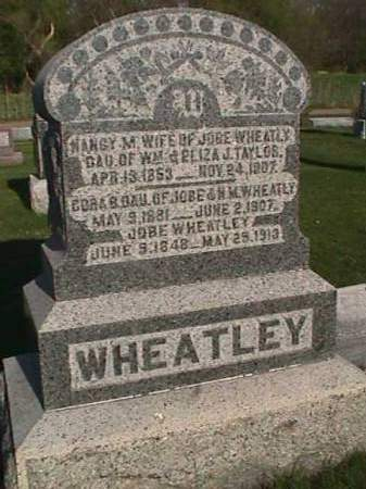 TAYLOR WHEATLEY, NANCY M. - Henry County, Iowa | NANCY M. TAYLOR WHEATLEY