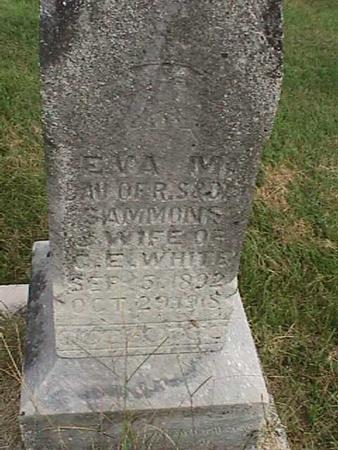WHITE, EVA  M. - Henry County, Iowa | EVA  M. WHITE