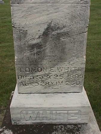 WHITE, EDMON E. - Henry County, Iowa | EDMON E. WHITE