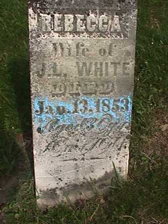 WHITE, REBECCA - Henry County, Iowa | REBECCA WHITE