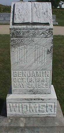 WIDMER, BENJAMIN - Henry County, Iowa | BENJAMIN WIDMER