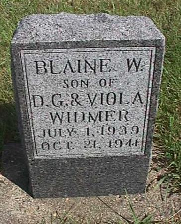WIDMER, BLAINE - Henry County, Iowa | BLAINE WIDMER