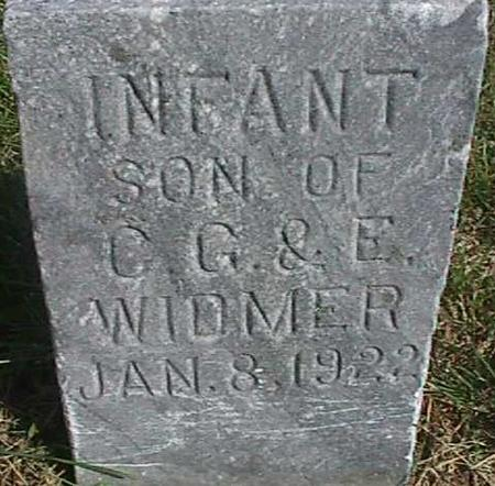 WIDMER, INFANT SON - Henry County, Iowa | INFANT SON WIDMER