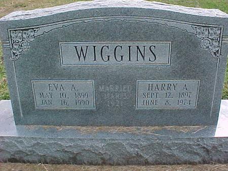 WIGGINS, HARRY A - Henry County, Iowa | HARRY A WIGGINS