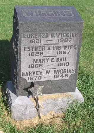 WIGGINS, HARVEY W - Henry County, Iowa   HARVEY W WIGGINS