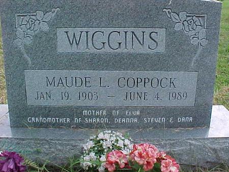 WIGGINS, MAUDE L. - Henry County, Iowa | MAUDE L. WIGGINS