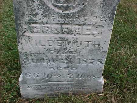 WILDEMUTH, GEORGE - Henry County, Iowa | GEORGE WILDEMUTH