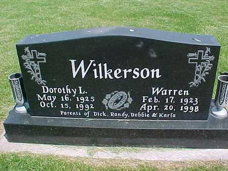 WILKERSON, WARREN - Henry County, Iowa   WARREN WILKERSON