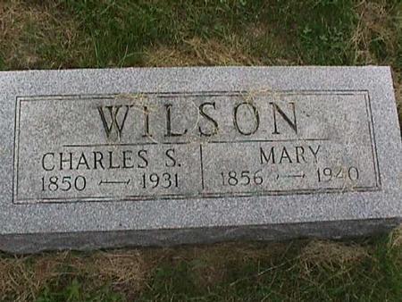 WILSON, CHARLES S. - Henry County, Iowa | CHARLES S. WILSON