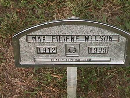 WILSON, MAX EUGENE - Henry County, Iowa | MAX EUGENE WILSON