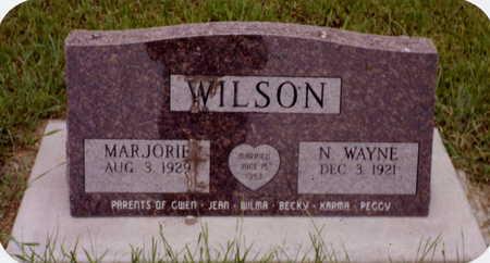 WILSON, MARJORIE - Henry County, Iowa | MARJORIE WILSON