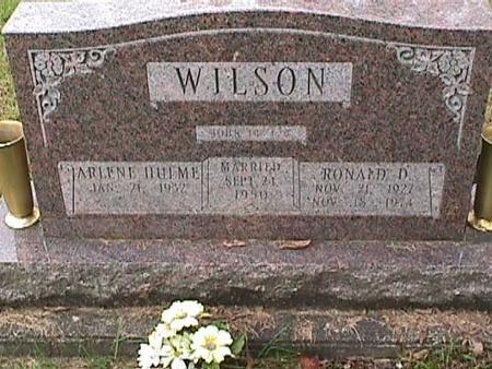WILSON, RONALD D - Henry County, Iowa   RONALD D WILSON