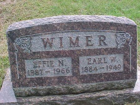 WIMER, EARL W - Henry County, Iowa   EARL W WIMER