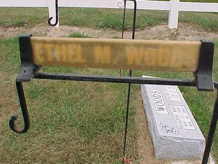 WOODS, ETHEL M. - Henry County, Iowa   ETHEL M. WOODS
