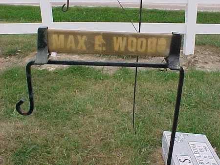 WOODS, MAX E. - Henry County, Iowa | MAX E. WOODS