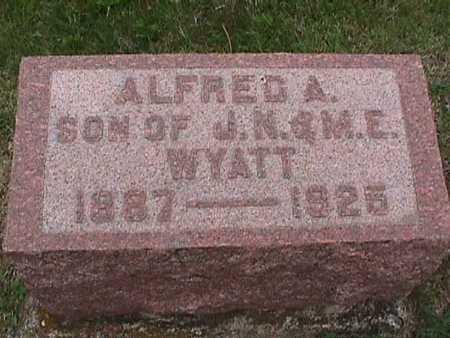 WYATT, ALFRED - Henry County, Iowa | ALFRED WYATT